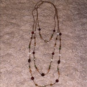 Beaded women's necklace